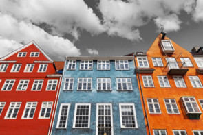 Windows and Colorful Houses