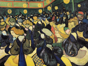 Van Gogh's The Dance Hall Painting
