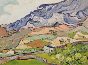 Van Gogh's The Alpilles Painting