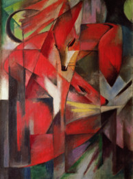 Franz Marc's The Fox Painting